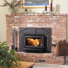 We are your trusted source for all things fireplace; gas logs, gas and wood fireplaces, wood burning stoves, fireplace glass doors, screens and tool sets. Wood Insert, Wood, Wood Stove, Wood Burning Fireplace, Fireplace Stores, Double Door Design, Fireplace, Wood Burning Fireplace Inserts, Fireplace Hearth