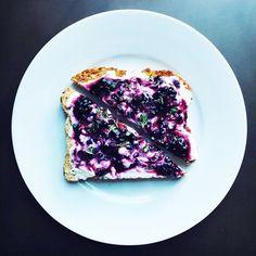 Easy Breakfast Toasts Besides Avocado Toast - http://www.refinery29.com/toast-recipes?utm_source=facebook.com&utm_medium=livingpost#slide