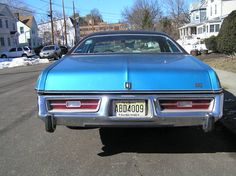 Mid size 1978 Plymouth Fury sedan (rear)