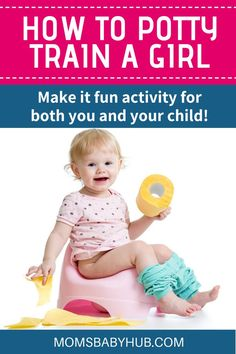 How To Potty Train A Girl - With girls, timing is slightly earlier than with boys. They are generally ready about 3 months before boys. Parenting Advice, Kids And Parenting, Parenting Memes, Mom Advice, Toddler Shows, Toddler Potty Training, Thing 1, Toddler Development, Stress
