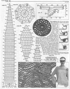 CARAMELO DE CROCHET: blusa con amplitud en base