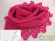 Handmade Crochet Scarves – Crochet For Beginners Crochet Scarves, Crochet Shawl, Crochet Yarn, Crochet Clothes, Free Crochet, Crochet World, Crochet Stitches Patterns, Scarf Patterns, Crochet For Beginners