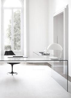 Biuro i gabinet - styl minimalistyczny