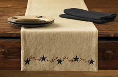 Burlap by Park Designs Napkin Kitchen Dining Tan