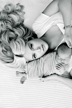 Mom & baby's first shoot