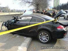BMW 3-8 Series 6-Series crashed