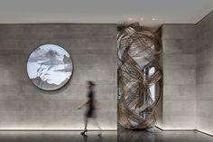 以人为本,宜居共融,上海崇明十里江湾营销中心 | 飞视设计-建e室内设计网-设计案例 Architecture Photo, Amazing Architecture, Luxury Villa, Sculpture Art, Modern Art, Places To Visit, Museum, Indoor, Interior Design