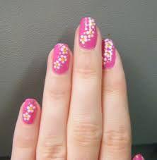 caz 'n' polish: Flower Chain Nail Art Flower Nail Designs, Simple Nail Designs, Nail Art Designs, Nail Art Blog, Simple Flowers, Flower Nails, Cool Nail Art, Nail Tips, Nail Ideas