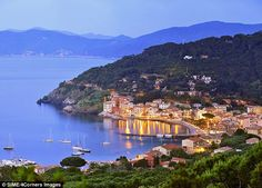 Island of Elba, Italy - six miles off the Tuscan coast (4.5 hours from Valpe)