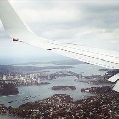 Birdseye View Sydney Harbour Bridge #sydneyharbour #sydneyharbourbridge #travel #plane #travel #sydney #australia #qantas by leeandmax9 http://ift.tt/1NRMbNv