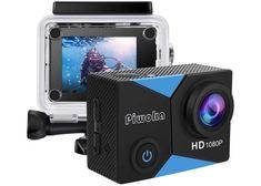 Piwoka Action Cam 1080P 12MP FHD 30M Impermeabile Fotocamera Subacquea con Schermo 2 Pollici | piuofferte.it Camera Deals, Camera Shop, Tech Gifts For Dad, Wi Fi, Camera Supplies, Sports Nautiques, Water Sports, Gopro Action, Skateboards