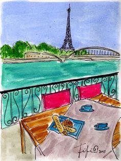 Fifi Flowers: ooh la la Paris... Table for all...