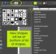 How to Install Custom Shapes in Photoshop Elements