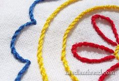 Needle and Thread Website  Excellent place for hand embroidery tips and tricks!!  Videos also.