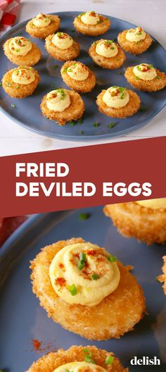 Fried Deviled Eggs: The Appetizer You Never Knew You NeededDelish