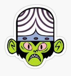 """Powerpuff Girls - Mojo Jojo"" Stickers by frankzandbeanz Bubble Stickers, Cool Stickers, Laptop Stickers, Cartoon Girl Drawing, Girl Cartoon, Tumblr Png, Foto Transfer, Cartoon Stickers, Aesthetic Stickers"
