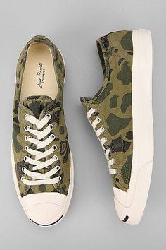 Converse Jack Purcell Camo Sneaker