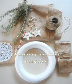 Ιδέες για διακόσμηση: Λιτό και απέριττο χριστουγεννιάτικο στεφάνι!