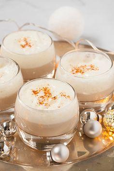 Cappuccino van aardpeer en geitenkaasmousse