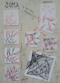 How to draw YUMA « TanglePatterns.com