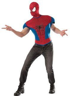 spiderman karneval kost me f r m nner pinterest kost me f r m nner karneval und f r m nner. Black Bedroom Furniture Sets. Home Design Ideas