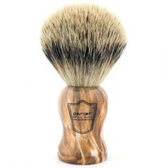 Parker Silvertip Badger, Faux Petrified Wood Handle Shaving Brush Shaving Brush, Petrified Wood, Men's Grooming, Badger, Brushes, Handle, Blushes, Paint Brushes