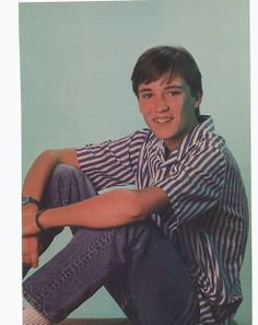 Teenage Wil Wheaton   Matching sweater sets. Young Celebrities, Young Actors, Celebs, Gordie Lachance, Wesley Crusher, Hot Hockey Players, Corey Haim, Wil Wheaton, Old And Teen