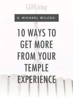 This list of tips will help any member have more powerful and personal experiences within the walls of the Lord& house. Lds Talks, Lds Church, Church Ideas, Church Quotes, Temple Quotes, Lds Quotes, Mormon Quotes, Visiting Teaching, Spiritual Thoughts