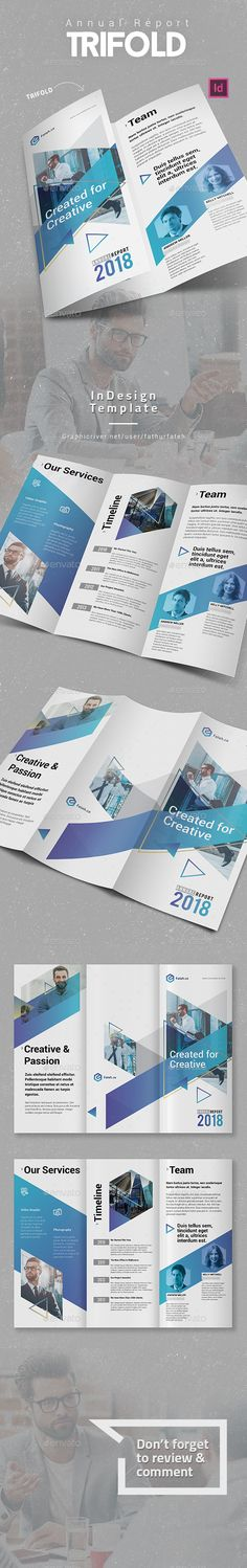 #Annual Report #Trifold - #Corporate #Brochures