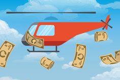 Bude centrálna banka zhadzovať peniaze z vrtuľníka? (Týždeň vo financiách očami komentátora)