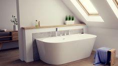 Wanna przyścienna akrylowa Mono Corsan. @lazienki_inspiracje #corsan #budujemy #wanny #wolnostojące #bath #frestanding #bath #bathtube #designbath #modernbathroom #homebook #bohointerior #mieszkaniewbloku Green Bathrooms Designs, Contemporary Bathroom Designs, Modern Bathroom Decor, Bathroom Interior Design, Small Bathroom, Bathroom Ideas, Scandinavian Bathroom, Bathroom Plans, White Bathroom
