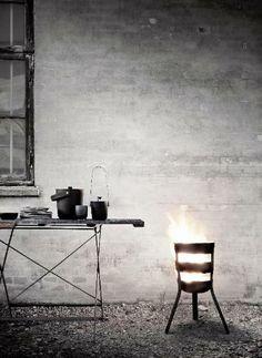 Fire Basket DKK by Norm Architects - MENU - News and press releases Foyers, Design Shop, Design Grill, Menu Design, Fire Basket, Design Bestseller, Minimal Design, Scandinavian Design, Decoration