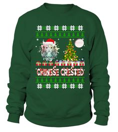 # CHINESE CRESTED Ugly Christmas Sweatshi .  HOW TO ORDER:1. Select the style and color you want: 2. Click Reserve it now3. Select size and quantity4. Enter shipping and billing information5. Done! Simple as that!TIPS: Buy 2 or more to save shipping cost!This is printable if you purchase only one piece. so dont worry, you will get yours.Guaranteed safe and secure checkout via:Paypal   VISA   MASTERCARD