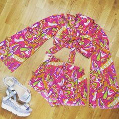 #pucci inspired fabric in our tie crop top and short set  £55 + p&p  #fblogger #fashionblogger #fblog #blogger #instagood #instadaily #instalike #instastyle #fashion #fasionista #style #trend #clothes #shopping #lookbook #ootd #ootn #lotd #outfit #fromwhereistand #inspo #inspiration #fashioninspo  #festival  #Ibiza #Marbella #Vegas #summer #vfestival