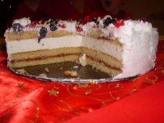 tort cu crema de sampanie - imagine 1 mare