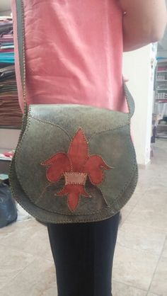My work,handmade bag,deri,çanta,el işi