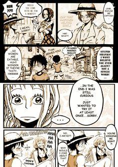 Luffy x Nami One Piece Meme, One Piece Funny, One Piece Comic, One Piece Ship, One Piece Fanart, One Piece Manga, One Piece Images, One Piece Pictures, Luffy X Nami
