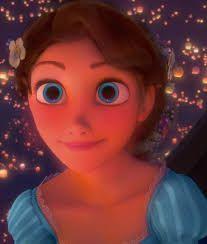 Rapunzel With Brown Hair And Blue Eyes Google Search Disney Pixar Disney Characters Disney Princess