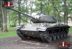 The M41 Walker Bulldog began production in 1950 and ended to the tune of some 3,728 examples produced.