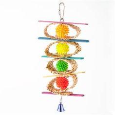 Polly Wanna Bird Toy - Inshredaball • $7.99