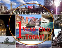 The Thrifty Gypsy's Travels : 1st Blogiversary + Giveaway! @thriftygypsy87