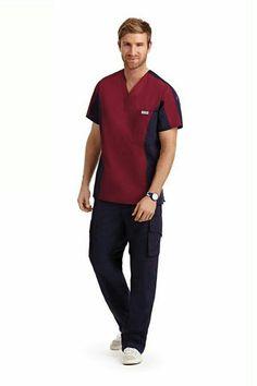 Scrubs Outfit, Scrubs Uniform, Men In Uniform, Scrub Suit Design, Stylish Scrubs, Housekeeping Uniform, Greys Anatomy Scrubs, Designer Suits For Men, Medical Scrubs