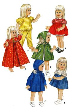 "Baby 1st Step - Goody Two Shoes 20"" Doll Clothes PATTERN 4169 Dress Bloomers"