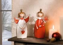 European country iron cute Christmas decorations Christmas gifts children's room desktop home decor gifts