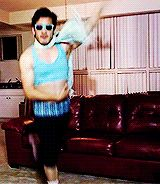 It's funny how much Mark doing Zumba looks like me when I try to dance.....