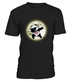 # Dabbing Panda Total Solar Eclipse Shirt .   Get ready for this huge event coming this summer, the United States total solar eclipse on 8/21/17, with this awesome graphic t-shirt. Make sure you, your friends, and family are prepared for the upcoming U.S. solar eclipse, when the moon passes completely between the sun and the earth and it is seen in the starry night sky. Wear this tshirt tee yourself or gift it to someone special.  TIP: If you buy 2 or more (hint: make a gift for someone or…