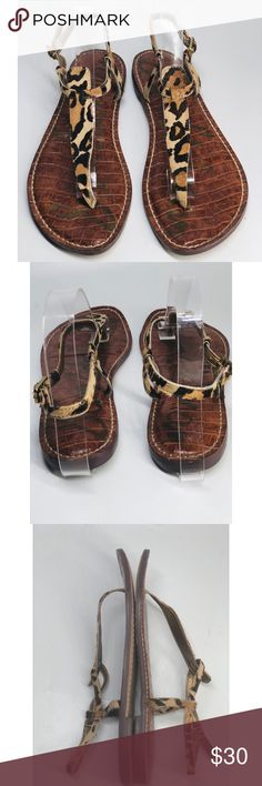 c5afe94c7fee  Sam Edelman  Gigi Thong Sandals  Preowned  Preowned condition  Size 8
