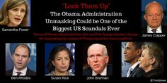 """It is obvious that Obama, Brennan, Rice, Power and Rhodes were involved in massive — underscore massive — unmasking of Trump people, friends and associates after Trump's nomination and after the election,"" DiGenova said."