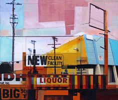 "Saatchi Art Artist Jon Measures; Collage, ""Clean Facility"" #art"