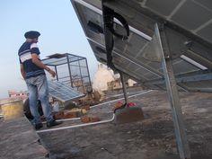 #Solar #Solar_Energy #Solar_Panels #Solar_Panel_Manufacturers #Solar_India #Solar_Panels_India Success Story / Case Study - Solar Energy Project - Solar Panels installed by Perfect Aurarays in Sadar Bazar, Gurgaon, Haryana, India. http://www.aurarays.com/projects/solar-project-sadar-bazar-gurgaon.aspx